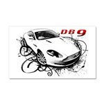 Aston Martin DB9 Car Magnet 20 x 12