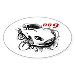 Aston Martin DB9 Sticker (Oval)