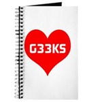 Big Heart G33ks Journal