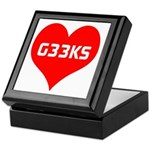 Big Heart G33ks Keepsake Box