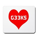 Big Heart G33ks Mousepad