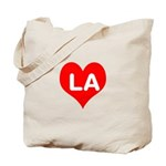 Big Heart LA Tote Bag