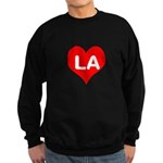 Big Heart LA Sweatshirt (dark)