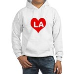 Big Heart LA Hooded Sweatshirt