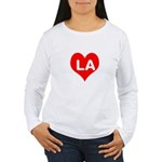 Big Heart LA Women's Long Sleeve T-Shirt