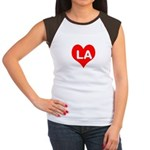 Big Heart LA Women's Cap Sleeve T-Shirt