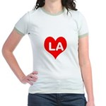 Big Heart LA Jr. Ringer T-Shirt