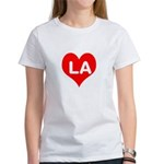 Big Heart LA Women's T-Shirt