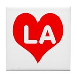 Big Heart LA Tile Coaster