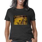 Big Heart Honey Badgers Organic Toddler T-Shirt (d