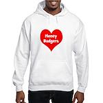 Big Heart Honey Badgers Hooded Sweatshirt