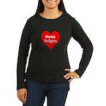 Big Heart Honey Badgers Women's Long Sleeve Dark T