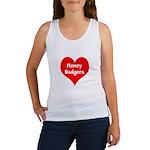 Big Heart Honey Badgers Women's Tank Top