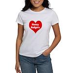 Big Heart Honey Badgers Women's T-Shirt