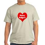 Big Heart Honey Badgers Light T-Shirt