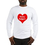 Big Heart Honey Badgers Long Sleeve T-Shirt