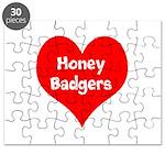 Big Heart Honey Badgers Puzzle