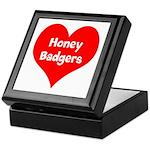 Big Heart Honey Badgers Keepsake Box
