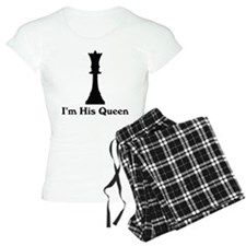 I'm His Queen Couples Pajamas