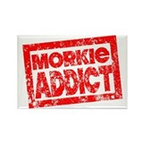 Morkie ADDICT Rectangle Magnet