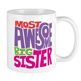 Awesome Big Sister Small Mugs