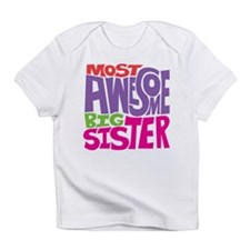 Awesome Big Sister Infant T-Shirt