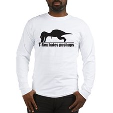 Poor T-rex Long Sleeve T-Shirt