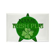 Custom Irish Pub Rectangle Magnet