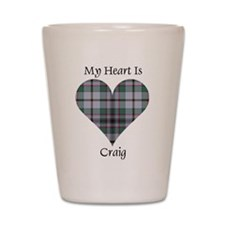 Heart - Craig Shot Glass
