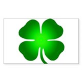 Four Leaf Clover Decal