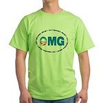 OMG Green T-Shirt