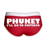 PHUKET I'LL GO TO PATTAYA Women's Boy Brief