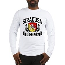 Siracusa Sicilia Long Sleeve T-Shirt