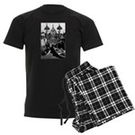 The Snow Queen 2 Men's Dark Pajamas
