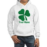 Personalized Irish Shamrock Hoodie