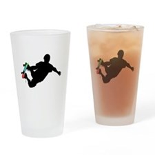 Cute Skateboard Drinking Glass