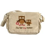 Big Sister - Mod Owl Messenger Bag