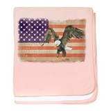 Freedom Flag baby blanket