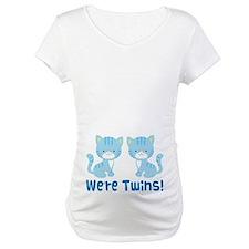 Twin Blue Kittens Shirt