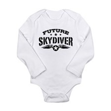 Future Skydiver Long Sleeve Infant Bodysuit