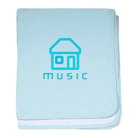 House Music baby blanket