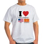 USA-MACEDONIA Light T-Shirt