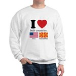 USA-MACEDONIA Sweatshirt