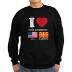USA-MACEDONIA Sweatshirt (dark)