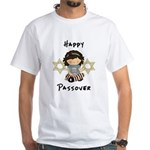 Happy Passover Girl White T-Shirt