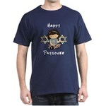 Happy Passover Girl Dark T-Shirt