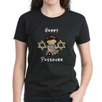 Happy Passover Girl Women's Dark T-Shirt