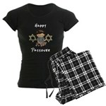 Happy Passover Girl Women's Dark Pajamas