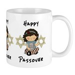 Happy Passover Girl Mug