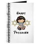 Happy Passover Girl Journal